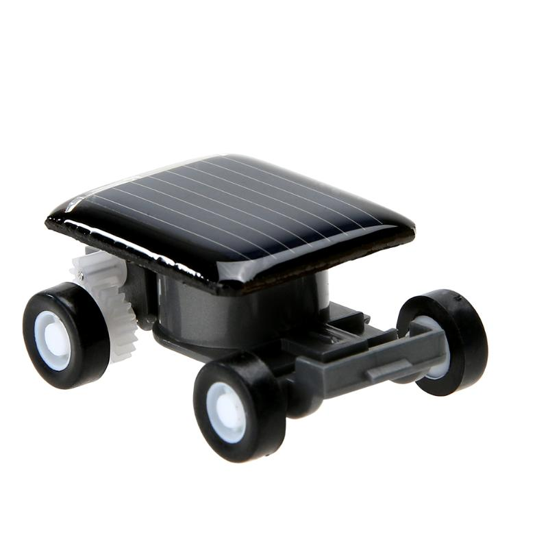 Costbuys  Mini Solar Power Car Toy Electrical Sunpower Vehicle Toys Educational Kids Child Children Plaything Christmas Gift Pre
