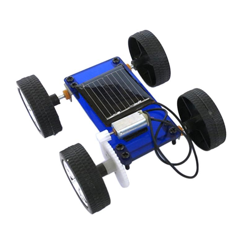 Costbuys  Mini Solar Powered Toy Car Special Edition Model Car DIY Kit Child Educational Funny Gadget Hobby Gift DIY Handmade As