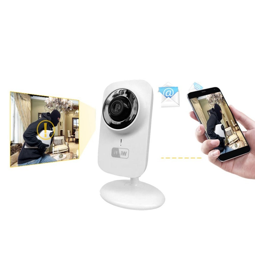 Costbuys  Mini WIFI Wireless IP Camera Home Surveillance Security Camera Baby Monitor Two-way Audio Night Vision - China