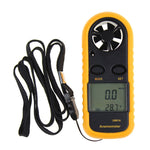 Multifunction Digital Anemometer Handheld LCD Electronic Wind Speed Air Volume Measuring Meter