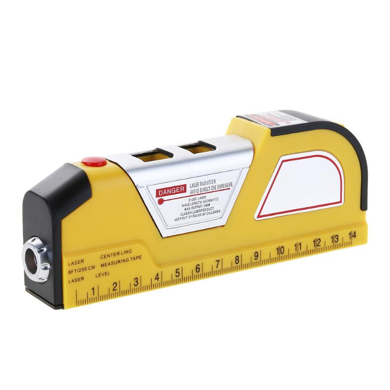 Costbuys  Multifunction Infrared Laser Levels Measurement Tape Measure Double Vertical Laser Level for Home Renovation