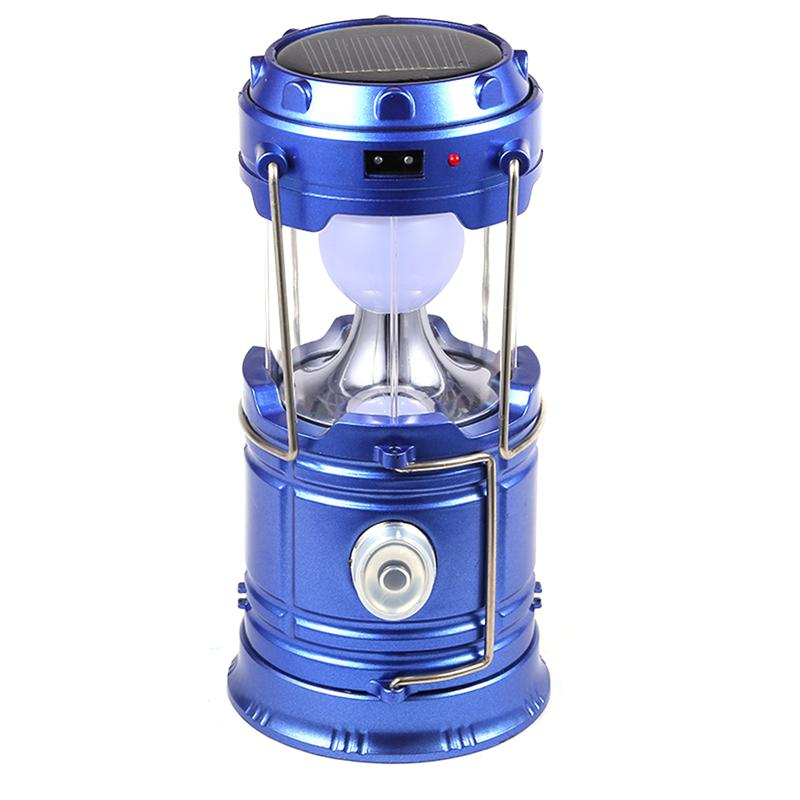 Costbuys  Multifunctional Outdoor Led Lanterns Light Rechargeable Solar Tent Lanterns Lamp with Handle Led Flashlights for Campi