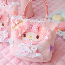 Anime Toys Cartoon Beauty Miller Cashmere Plush handbag Children's Shoulder Bag For Girls handbag Lover Gift Top-Handle Bags