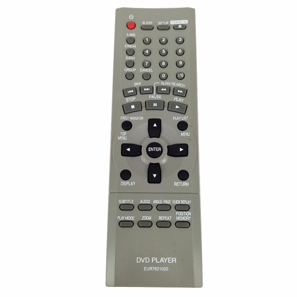 Costbuys  NEW Original EUR7621020 For Panasonic DVD Player Remote Control for DVD-S75EE for Panasonic Home Theater Sound System