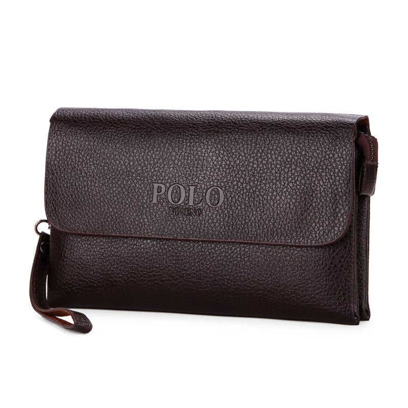 Costbuys  NEW fashion men wallets Casual Clutch luxury portfolio coins wallet Mobile phone bag High capacity Multifunction men m