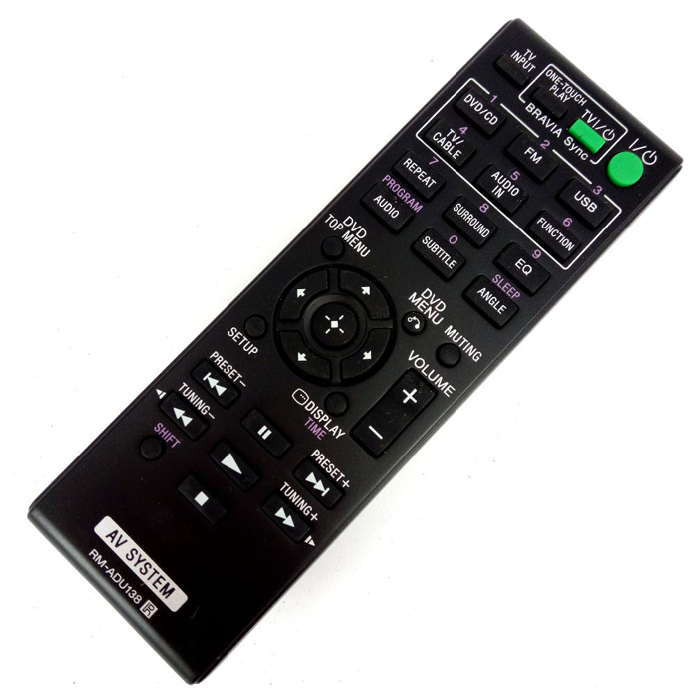 Costbuys  NEW for Sony AV SYSTEM Remote control RM-ADU138 FOR DAV-TZ140 HBD-TZ140 SS-CT121 SS-TS121 SS-WS121 Home Theater System