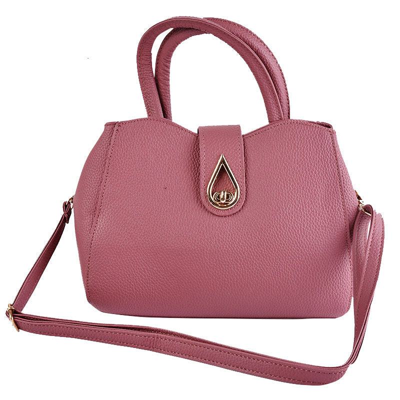 Costbuys  Elegant Women Shoulder Bags Ladies Tassel Designer PU Leather Crossbody Bags For Women Female Handbags - hot pink