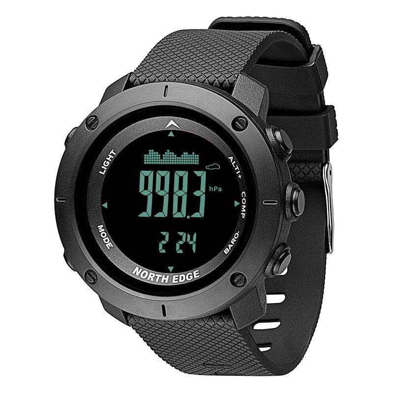 Costbuys  Men's sport Digital watch Hours Running Swimming Military Army watches Altimeter Barometer Compass waterproof 50m