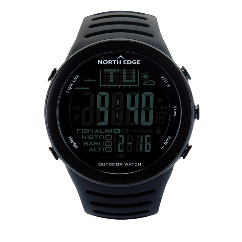 Costbuys  Men Digital watches outdoor watch clock weather Altimeter Barometer Thermometer Altitude Climbing Hiking hours