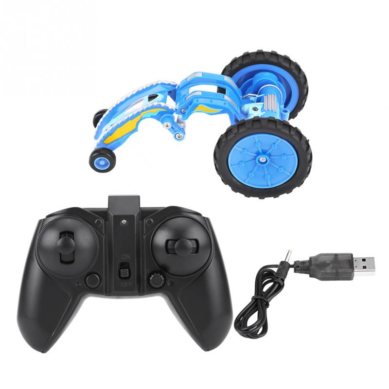 Costbuys  New Arrival Mini RC Car Remote Control Toy Stunt Car Electric Spin Dancing Model Car Vehicle Toys For Kids Children 2
