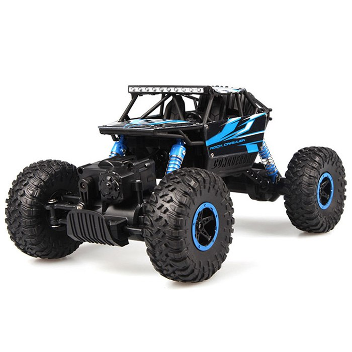 Costbuys  New Arrival RC Cars 1:18 Scale Off Road Climbing Car 2.4G Double Motors Four-Wheel Drive Remote Control Toys Kids Craw