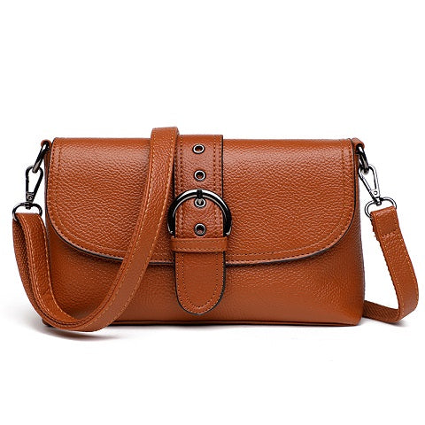 Costbuys  New Arrival Women Shoulder Bags Female Handbags Mini PU Leather Crossbody Messenger Bag Vintage Small Flap Bag Small B
