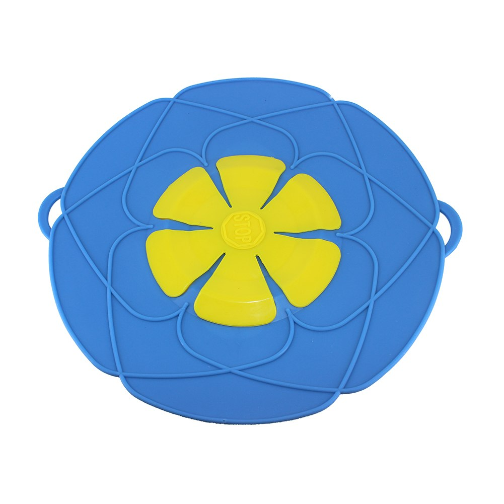 Costbuys  Silicone Microwave Bowl Cover Cooking Pot Pan Lid Cover-Silicone Flower Food Wrap Cooking Tools Kitchen Utensil - Chin