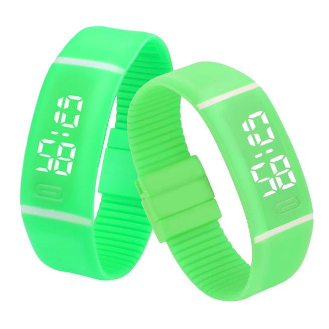 Costbuys  Sports Bracelet LED unisex Watch Men Watch Fashion Digital Watch Date Time Women Wristwatch Gift 1pcs - D