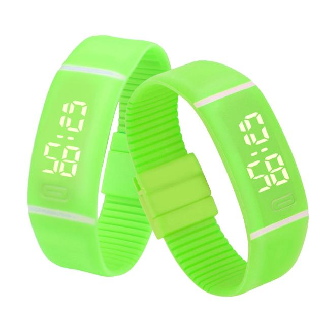 Costbuys  Sports Bracelet LED unisex Watch Men Watch Fashion Digital Watch Date Time Women Wristwatch Gift 1pcs - C