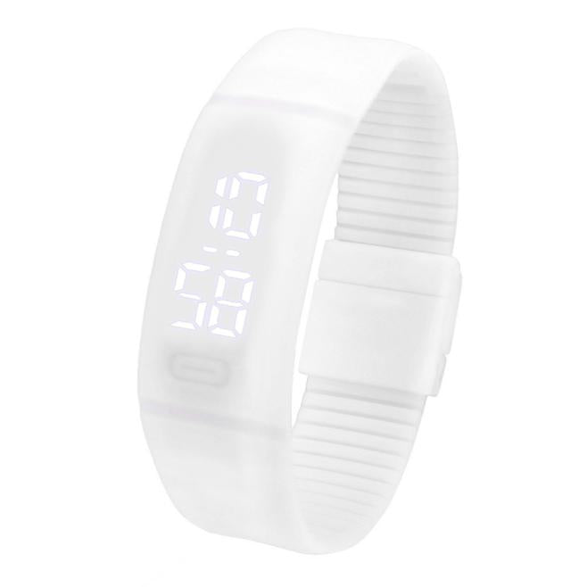 Costbuys  Sports Bracelet LED unisex Watch Men Watch Fashion Digital Watch Date Time Women Wristwatch Gift 1pcs - J
