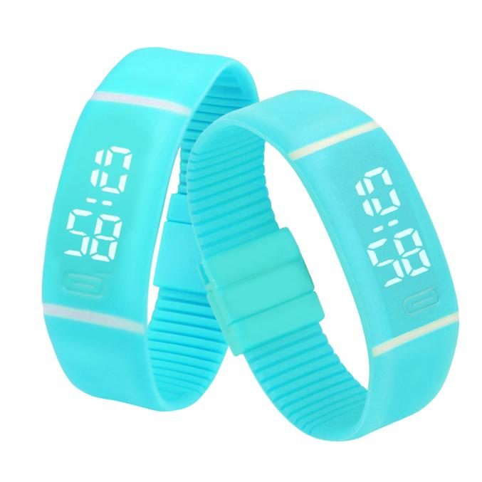Costbuys  Sports Bracelet LED unisex Watch Men Watch Fashion Digital Watch Date Time Women Wristwatch Gift 1pcs - I