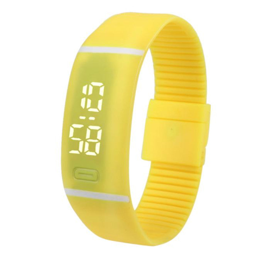 Costbuys  Sports Bracelet LED unisex Watch Men Watch Fashion Digital Watch Date Time Women Wristwatch Gift 1pcs - K