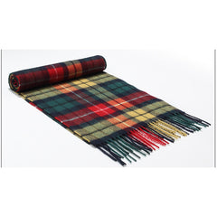 Autumn Winter Men Scarf Thicked Warm Fashion Man's Wool Scarf Long Plaid Scarf for Man Scarves