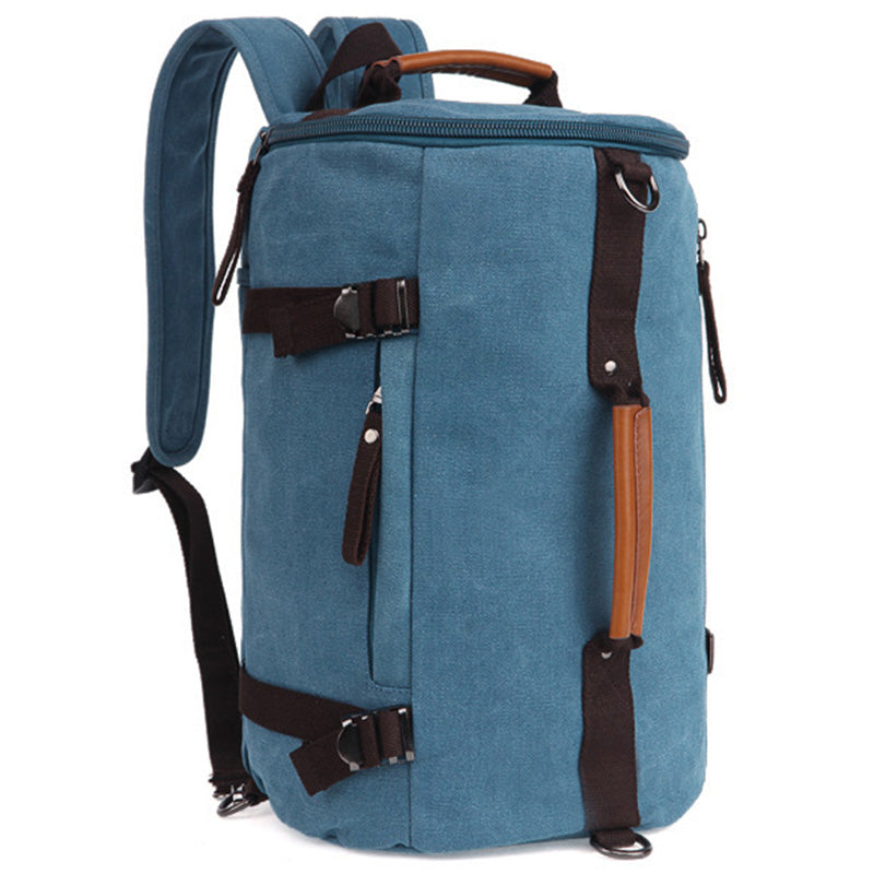 Costbuys  Canvas Men Luggage Bag Women Carry on Luggage Travel Bags Duffel Weekend Overnight Bag Rucksack Travelling Backpack Du