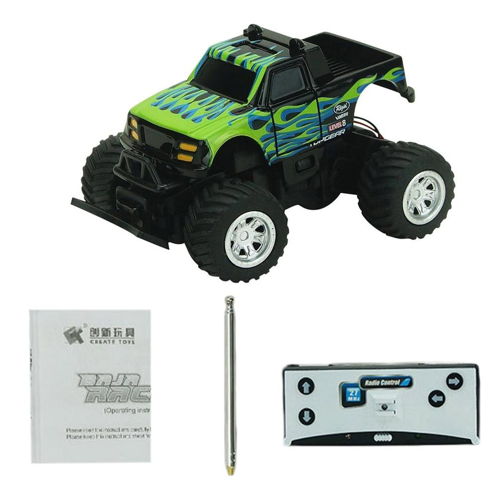 Costbuys  Electric Off-road RC Car Toys 8024  27HMZ/40MHz 4CH Rechargeable Mini Off-road Remote Control Model Toys Cars for Chil