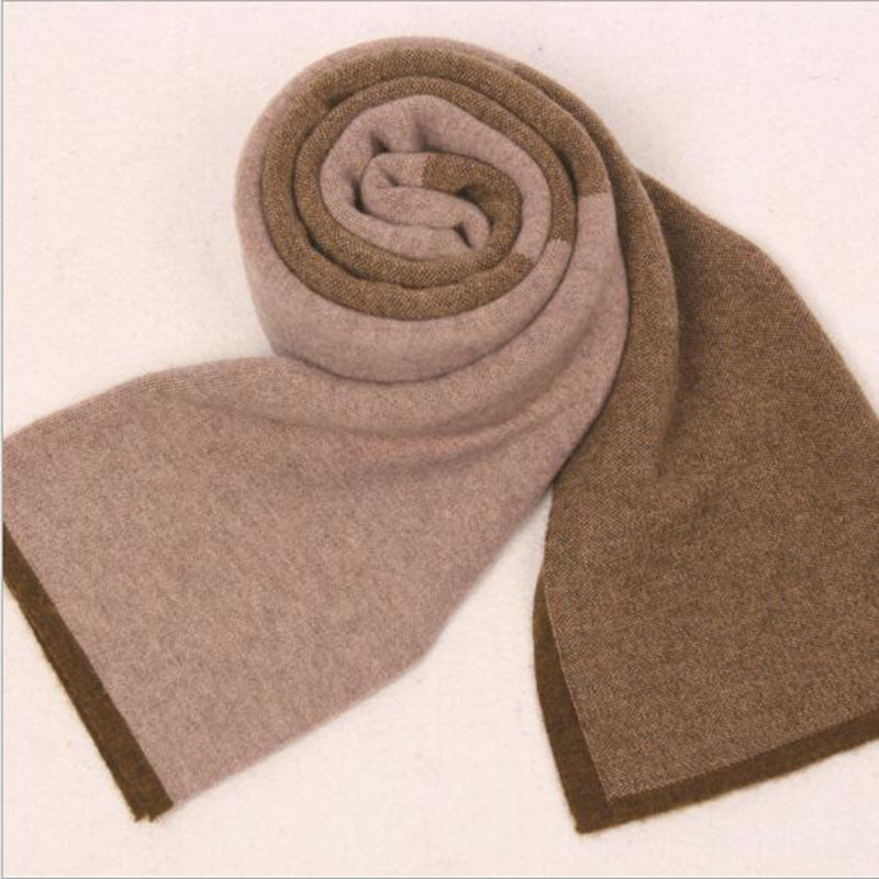 Fashion Long Men Scarf Man's Wool Scarf Men Autumn Winter Warm Scarves Patchwork Scarves