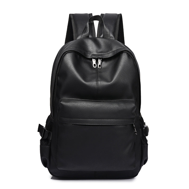 Costbuys  New Fashion Men Backpack Men's Backpacks for Teenager Luxury Designer PU Leather Backpacks Male High Quality Travel Ba