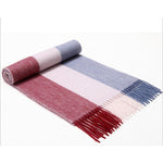 Fashion Winter Men Scarf Thicked Warm Man's Cashmere Scarf Plaid Scarf for Man Winter Autumn Scarf