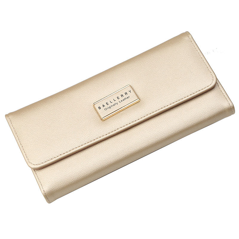 Costbuys  New Fashion Women Wallets Coin pocket Long Style Multi-functional wallet female Purse Fresh PU leather Female Clutch C