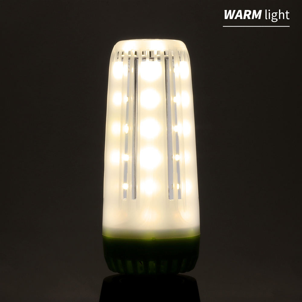 Costbuys  New Green No Flicker E14 Led E27 Corn Lamp 110V 220V Led Light Bulb 10W 15W 20W Chandelier Decoration Warm/White Home
