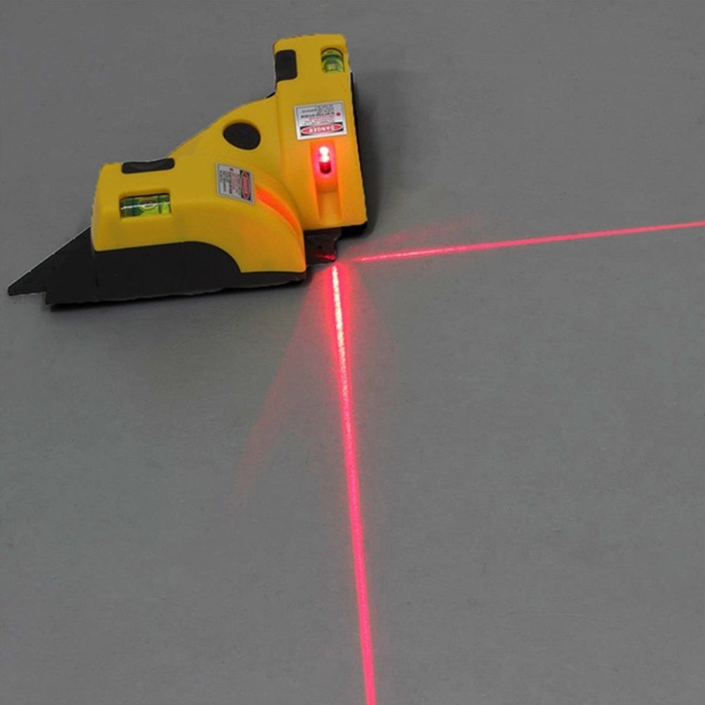 Costbuys  High Quality Measuring Tools 90 degree Vertical Horizontal Line Laser Level Projection Square Level Right Angle