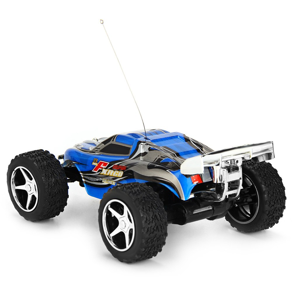 Costbuys  High Speed RC Car WLtoys WL Speed Mini Rc Cars Hour Super Car Amazing Remote Control Dirt Bike Toys - Blue