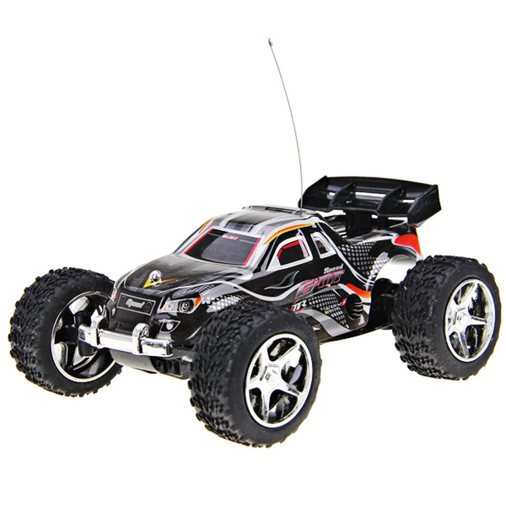 Costbuys  High Speed RC Car WLtoys WL Speed Mini Rc Cars Hour Super Car Amazing Remote Control Dirt Bike Toys - Black