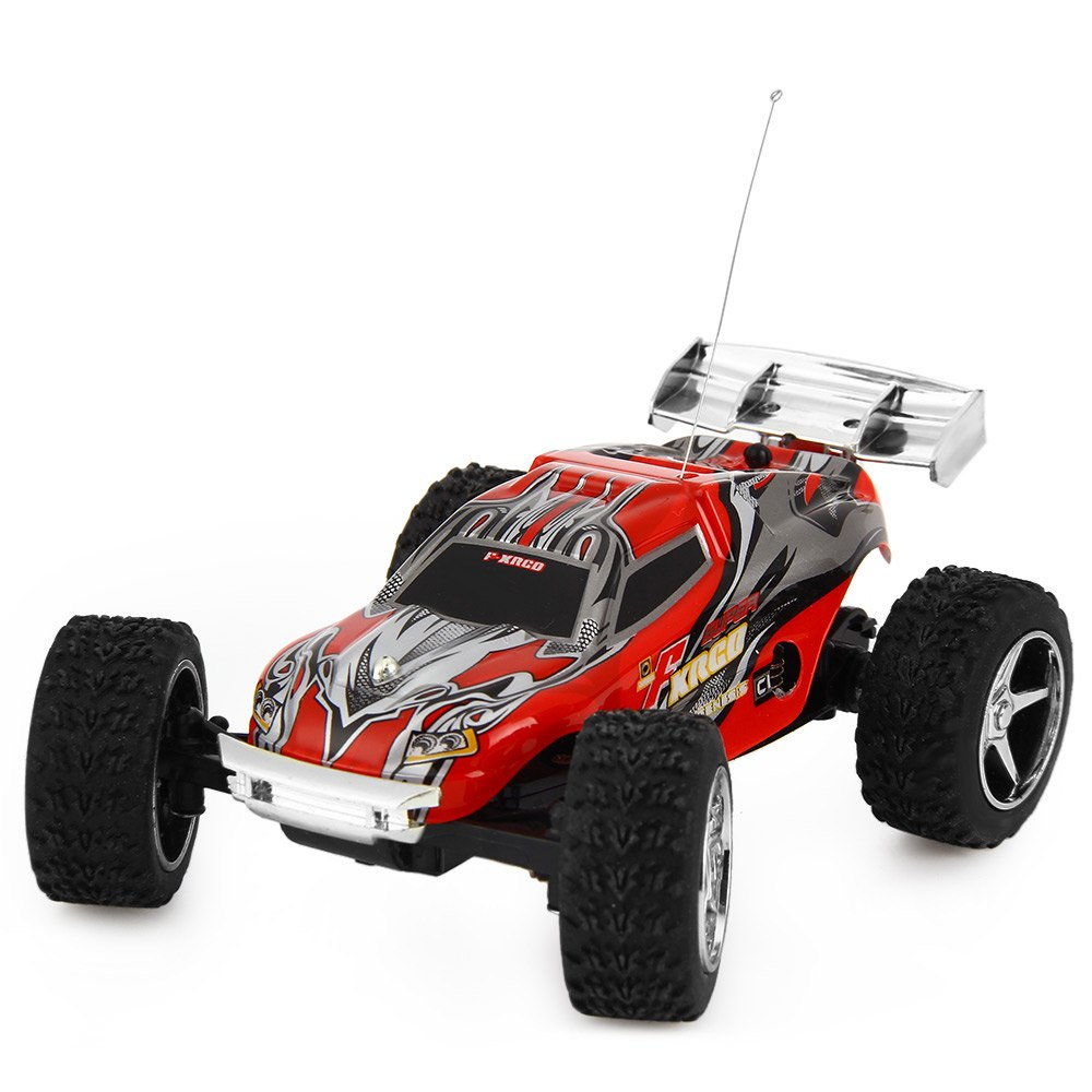 Costbuys  High Speed RC Car WLtoys WL Speed Mini Rc Cars Hour Super Car Amazing Remote Control Dirt Bike Toys - Red