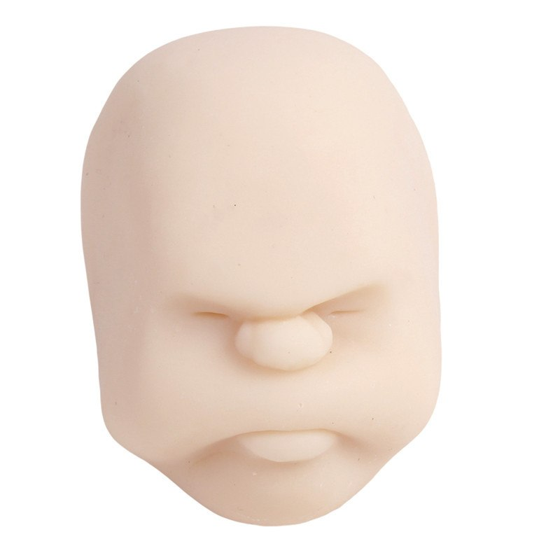 Costbuys  New Human Emotion Face Vent Ball Toys Resin Relax Pop Adult Novelty Toys Stress Relieving Anti-stress ball toys Gift M