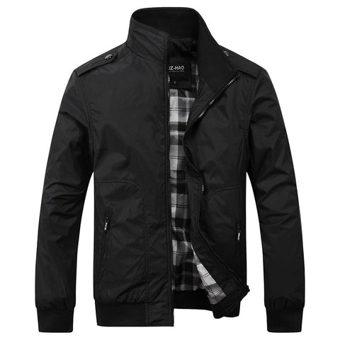 Men Jacket spring Patchwork Reflective Waterproof Windbreaker Men Coat Trend Brand