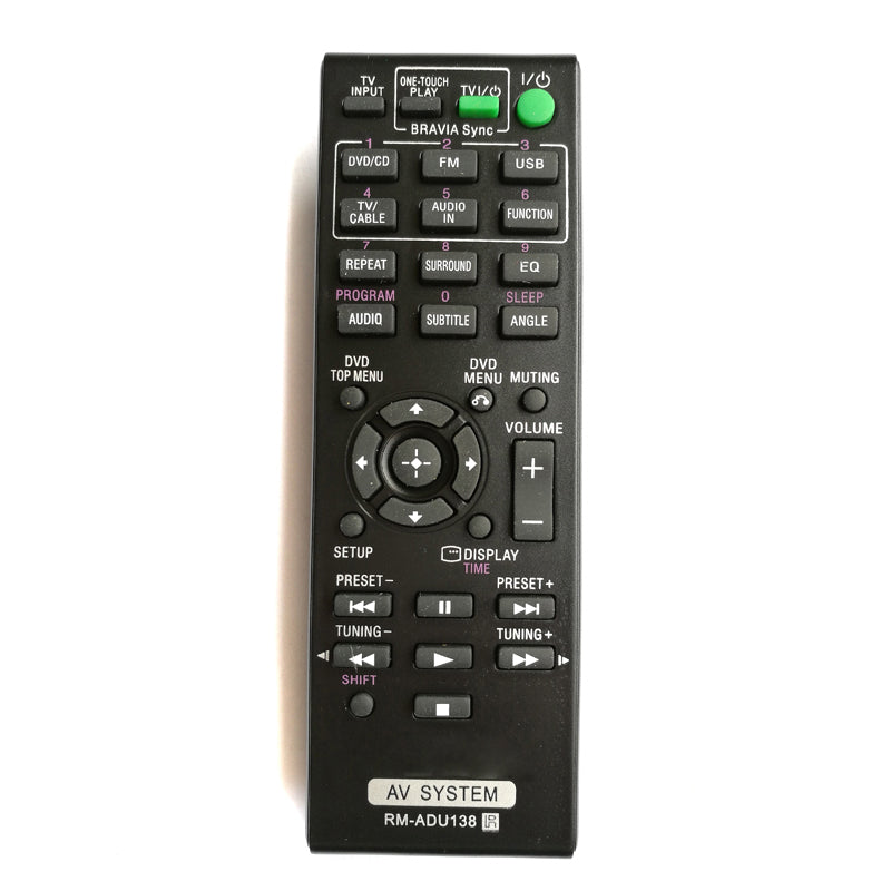 Costbuys  New Replace RM-ADU138 Audio/Video Receiver Remote Control For Sony Generic 148931811 DAVTZ140 Home Theater System