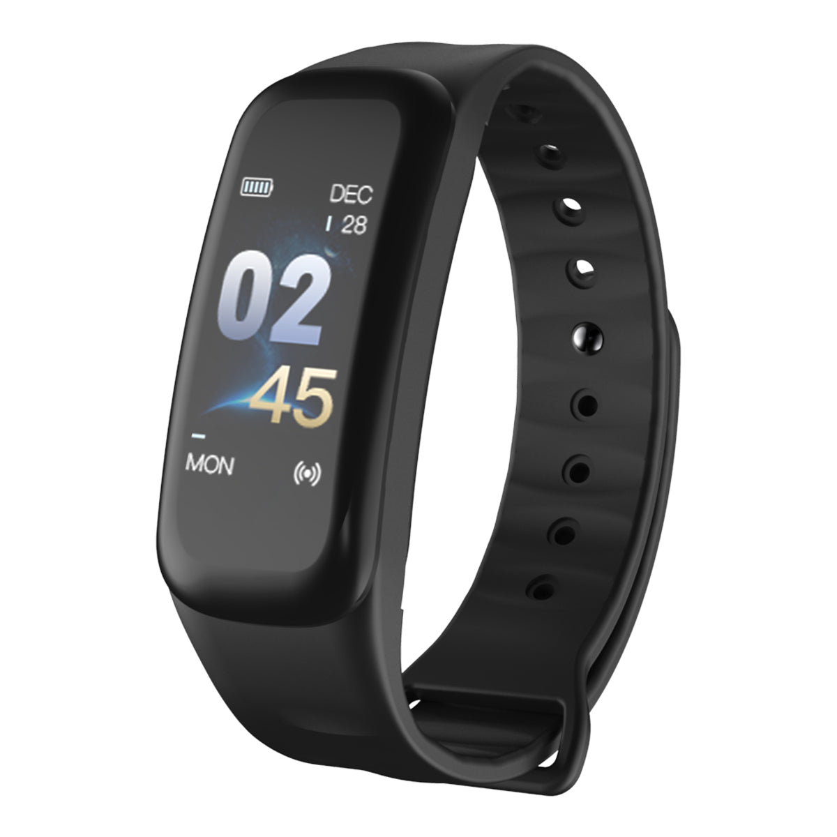Costbuys  Men Women Smart Bracelet Sport Watch Bluetooth Heart Rate Blood Pressure Calories Pedometer LED Smartwatch For Android