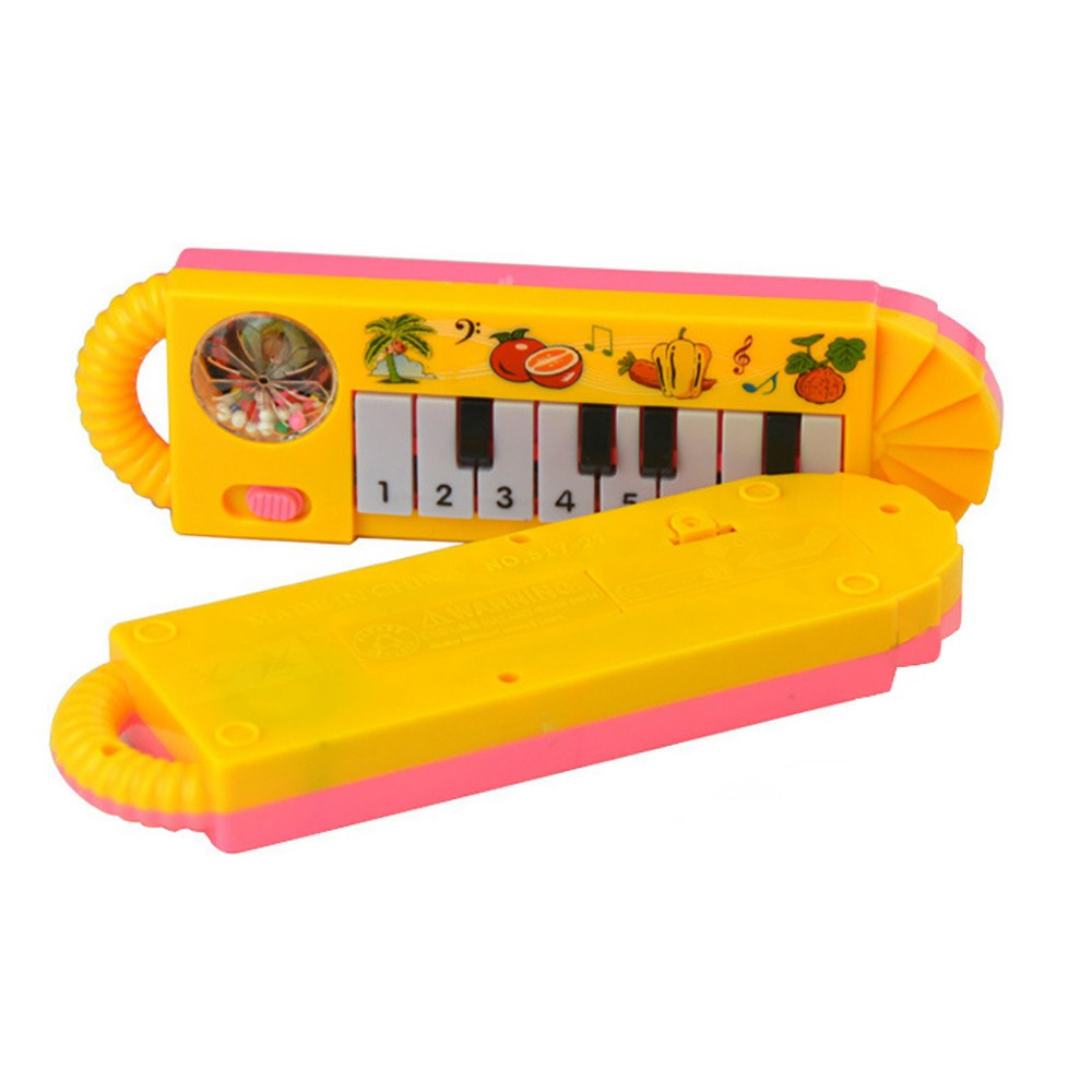 Costbuys  Baby Kids Musical Educational Animal Farm Piano Developmental Music Toy Toy Musical Instrument  teclado musical - As s