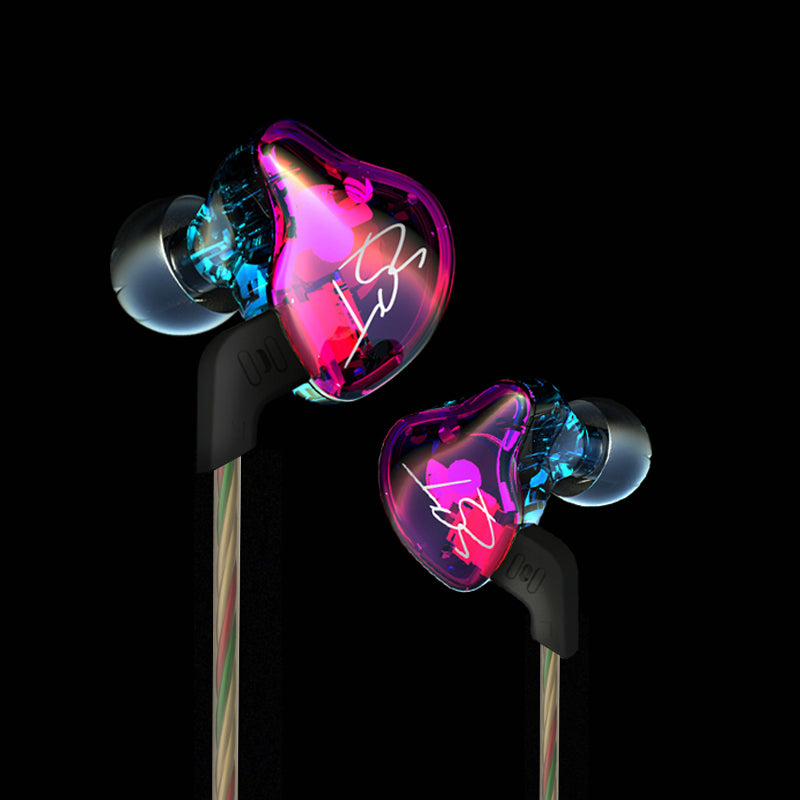 Costbuys  Original ZST Colorful BA+DD In Ear Earphone Hybrid Headset HIFI Bass Noise Cancelling Earbuds With Mic Replaced Cable
