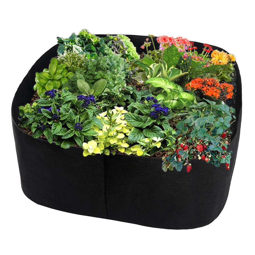 Costbuys  Outdoor Indoor Garden Planting Bags Cultivation Garden Pots Planters Vegetable Planting Bags Grow Bags Farm Home Garde