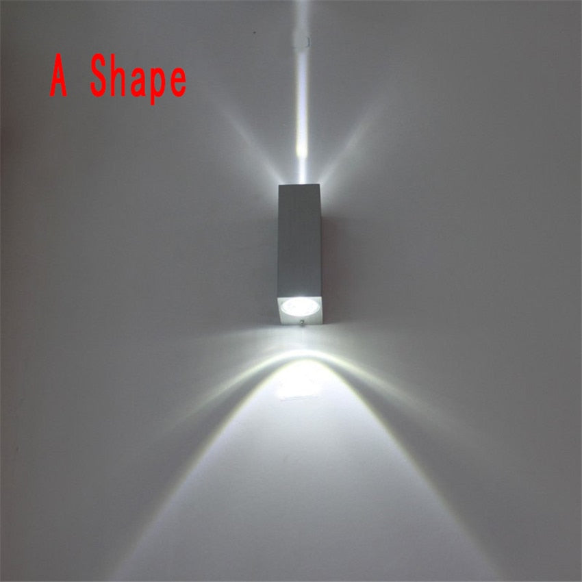 Costbuys  Outdoor Waterproof Wall Lamp IP65 6W LED Wall Light Outdoor/Indoor Decoration Bedroom Beside Lamp Corridor Garden Ligh