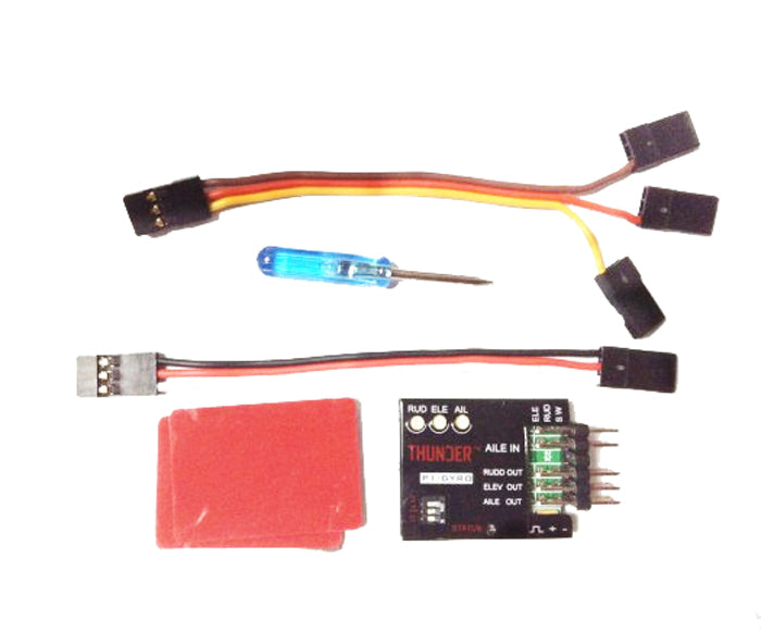 Costbuys  P1-GYRO 3-Axis Flight Controller Stabilizer System Gyro For Fixed Flying Wing Airplane FPV F06670