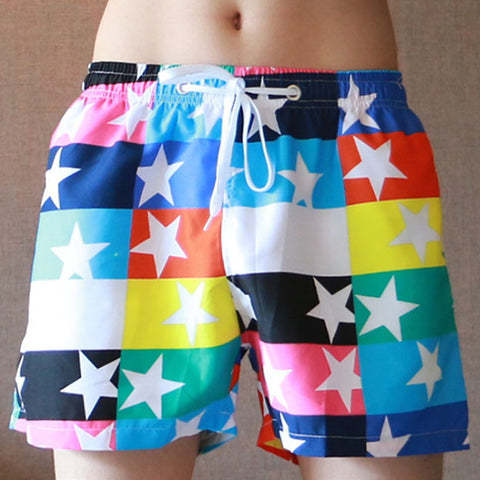Summer Beach Shorts swimsuit split pants  drying joint Bermuda masculina to Marca surfboard shorts men Beach Shorts