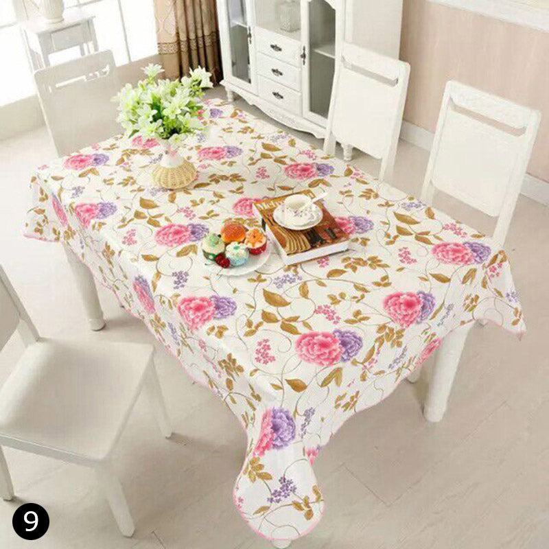 Costbuys  Waterproof Table Cloth Style High Quality Tablecloth Decorative Elegant Table Cover Home Party Banquet Tablecloth - Pa