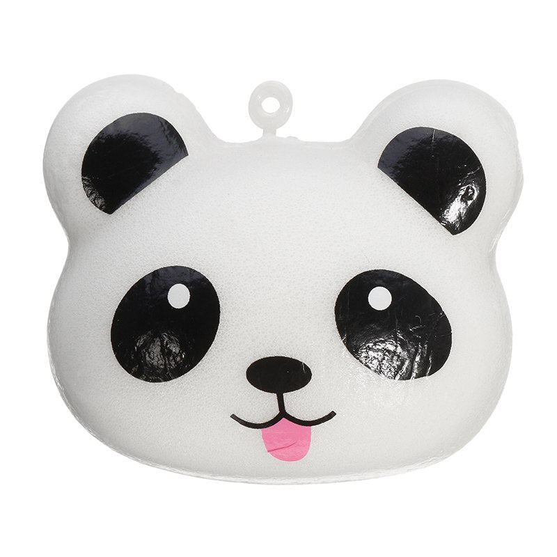 Costbuys  Panda Bun 5cm Soft Phone Bag Charm Strap Collection Gift Decoration Lovely Reduce Stress Toy