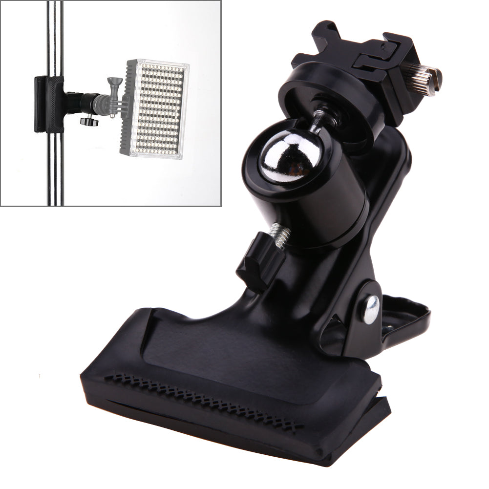 Costbuys  Photo Studio Accessories Backdrop Background Clamp Ball Head Hot Shoe Adapter Flash Light Stand Bracket Mount