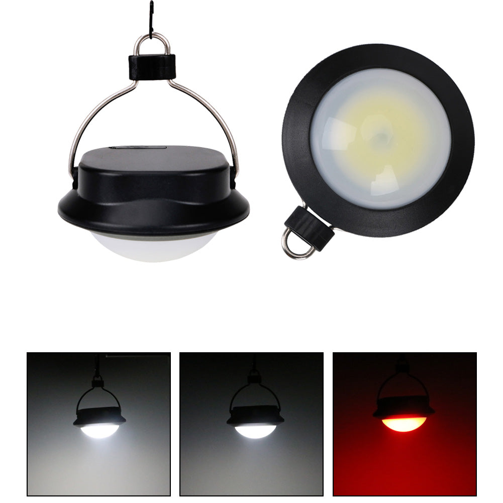 Costbuys  Portable Camping Light COB LED USB Rechargeable Lantern Waterproof Hanging Tent Lamp Magnetic Flashlight Outdoor Night