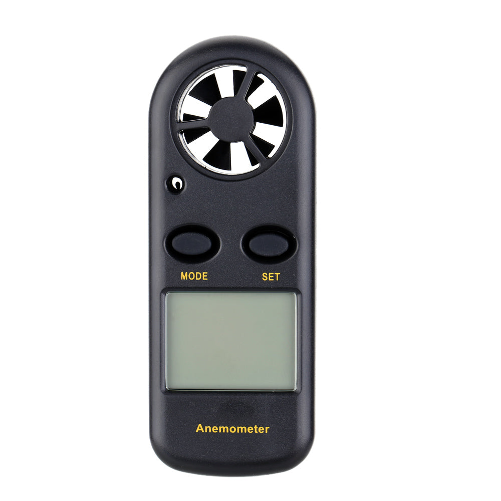 Costbuys  Portable Digital Anemometer Handheld Electronic tachometer Wind Speed Air Volume Measuring Meter LCD anemometro with B