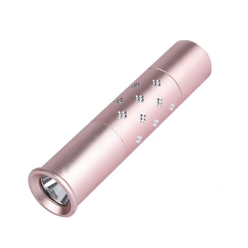 Costbuys  Portable Led UV 365nm Flashlight Torch Ultra Violet Light Lamp Beautiful Gift for Girlfriend Wife Check Fluorescent ag